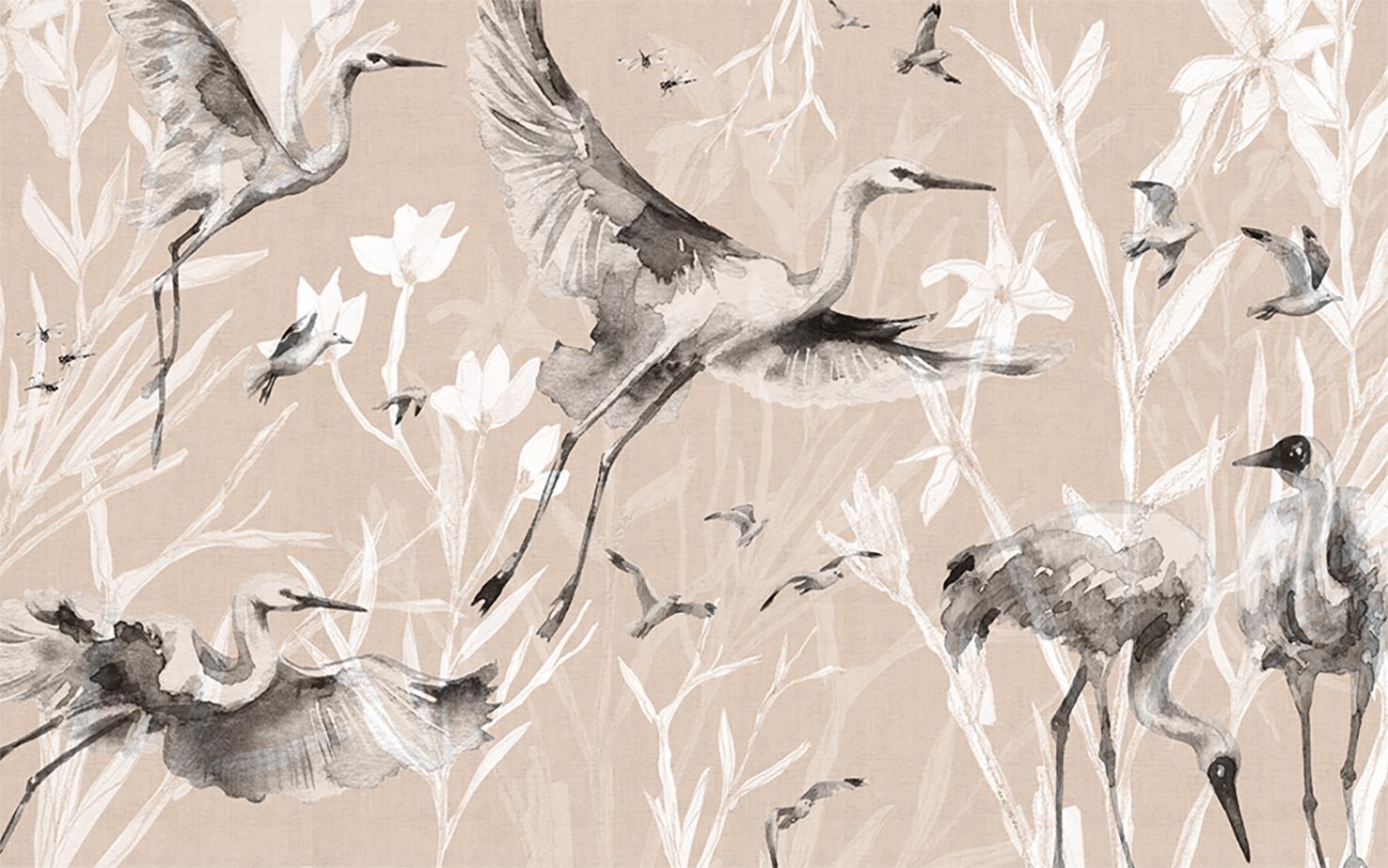 Birds_and_cranes_wallpaper